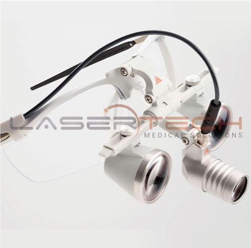 Lupa Para Con Frontal Binocular Heine® Led Loupelight 2lámpara jcL4q35AR